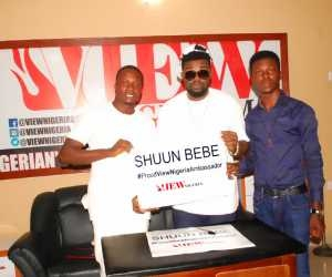 View Nigeria Signs Shuun Bebe as Brand Ambassador